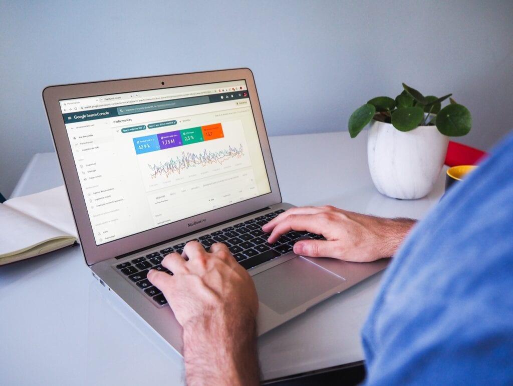 Amazon Advertising PPC Laptop Image